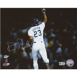 Kirk Gibson Signed Dodgers 8x10 Photo (MLB Hologram)