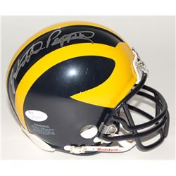 Jabrill Peppers Signed Michigan Wolverines Mini Helmet (JSA COA)