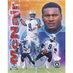 Steve McNair Signed Titans 8x10 Photo (JSA COA)
