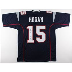 "Chris Hogan Signed Patriots Jersey Inscribed ""Go Pats"" (JSA COA)"