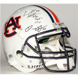"Ronnie Brown  Carnell ""Cadillac"" Williams Signed Auburn Full-Size Authentic Helmet Inscribed ""War Ea"