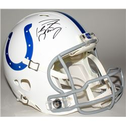 Peyton Manning Signed Colts Full-Size Authentic Helmet (Fanatics Hologram)