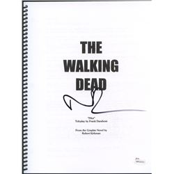 "Norman Reedus Signed ""The Walking Dead"" Pilot Episode Full Script (JSA Witnessed COA)"