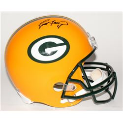 Brett Favre Signed Packers Full-Size Helmet (Favre Hologram)