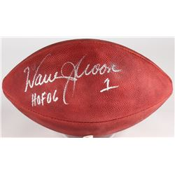 "Warren Moon Signed Official NFL Football Inscribed "" HOF 06""(JSA COA)"