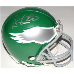 Cris Carter Signed Eagles Mini-Helmet (Radtke COA)