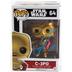 "Anthony Daniels Signed C-3PO ""Star Wars: the Force Awakens"" Pop! Vinyl Figurine Inscribed ""C-3PO"" (R"