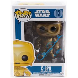 "Anthony Daniels Signed C-3PO ""Star Wars"" Pop! Vinyl Figurine Inscribed ""C-3PO"" (Radtke COA)"