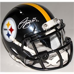 Le'Veon Bell Signed Steelers Speed Mini Helmet (JSA COA)
