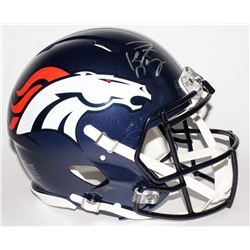 Peyton Manning Signed Broncos Full-Size Authentic Speed Helmet (Fanatics Hologram)