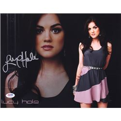 Lucy Hale Signed 11x14 Photo (PSA COA)