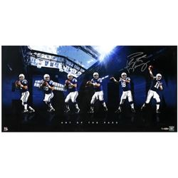 """Peyton Manning Signed Colts """"Art of the Pass"""" LE 18x36 Photo (UDA COA)"""