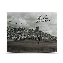 """Gary Player Signed LE """"Putt for the Win"""" 16x20 Photo Inscribed """"1974 Open Champ"""" (UDA COA)"""