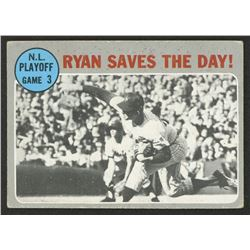 1970 Topps #197 NL Playoff Game 3 / Nolan Ryan