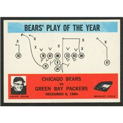 1965 Philadelphia #28 Bears Play / George Halas