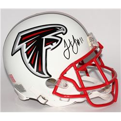 Julio Jones Signed Falcons Matte White Full-Size Authentic Helmet (Radtke COA)