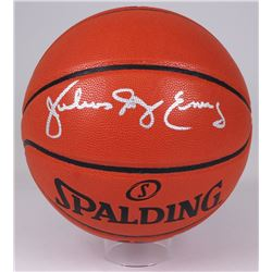 "Julius ""Dr. J"" Erving Signed NBA Game Ball Series Basketball (Radtke Hologram)"