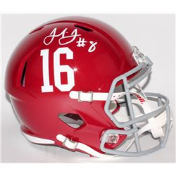 Julio Jones Signed Alabama Crimson Tide Full-Size Speed Helmet (Radtke COA)