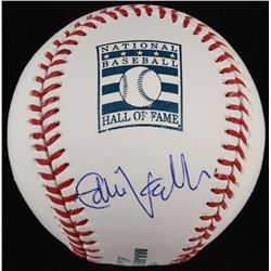 Eddie Vedder Signed OML Hall of Fame Logo Baseball (PSA LOA)