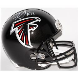 Julio Jones Signed Falcons Full-Size Helmet (Radtke COA)
