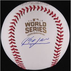 Aroldis Chapman Signed Official 2016 World Series Baseball (Schwartz COA)
