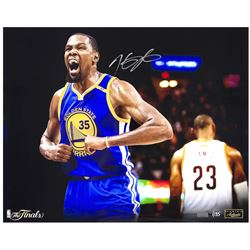 "Kevin Durant Signed Warriors ""Redemption"" LE 16x20 Photo (Panini COA)"