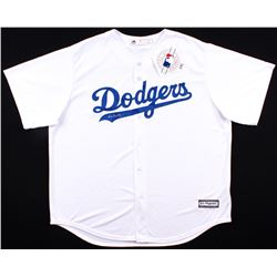 Vin Scully Signed Dodgers Authentic Majestic Jersey (Beckett COA)