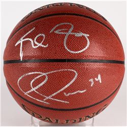 Kevin Garnett  Paul Pierce Signed Basketball (Beckett  PSA Holograms)