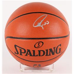 Stephen Curry Signed Official NBA Game Ball Series Basketball (Fanatics Hologram)