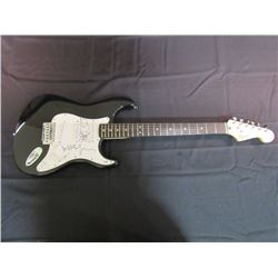 Jeff Bridges Signed Fender Squier Bullet Strat Electric Guitar with Sketch (PSA Hologram)