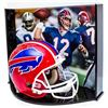 "Image 1 : Jim Kelly Signed LE Bills Full-Size Authentic Pro-Line Helmet Inscribed ""HOF 02""  ""Forever #12"" With"