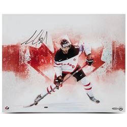 Aaron Ekblad Signed Team Canada  Home Pride  16x20 Photo (UDA COA)