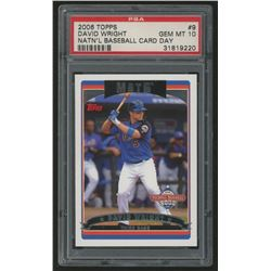 2006 Topps National Baseball Card Day #9 David Wright (PSA 10)