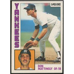 1984 O-Pee-Chee #8 Don Mattingly RC