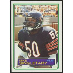 1983 Topps #38 Mike Singletary RC
