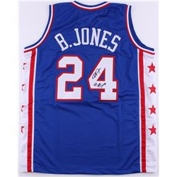 "Bobby Jones Signed 76ers Jersey Inscribed ""83 NBA Champs"" (JSA COA)"