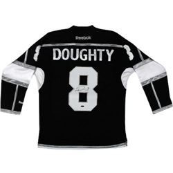 Drew Doughty Signed Kings 2014 Stanley Cup Jersey (Steiner COA)