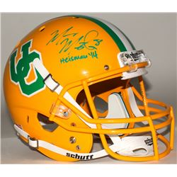 "Marcus Mariota Signed Oregon Ducks Throwback Full-Size Helmet Inscribed ""Heisman '14"" (Mariota Holog"