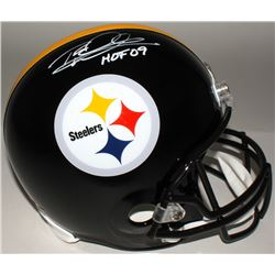 "Rod Woodson Signed Steelers Full-Size Helmet Inscribed ""HOF 09"" (JSA COA)"