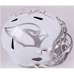 David Johnson Signed Cardinals Full-Size Speed ICE Helmet (JSA COA)
