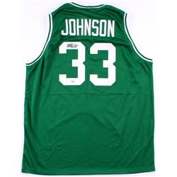 Magic Johnson Signed Michigan State Spartans Jersey (PSA COA)