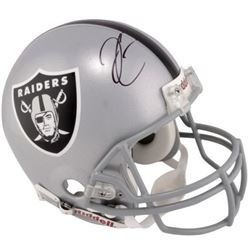 Derek Carr Signed Raiders Full-Size Authentic On-Field Helmet (Fanatics Hologram)