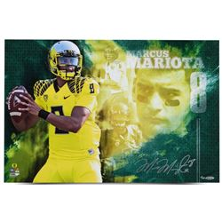 "Marcus Mariota Signed LE Oregon Ducks ""College Sensation"" 16x24 Photo (UDA COA)"