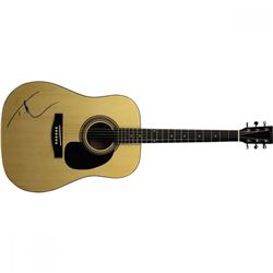 Tim McGraw Signed Fender Full-Size Acoustic Guitar (JSA COA)