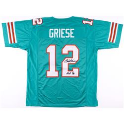 Bob Griese Signed Dolphins Jersey Inscribed  HOF 90  (JSA Hologram)