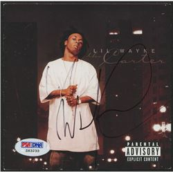 Lil Wayne Signed Album Cover (PSA Hologram)