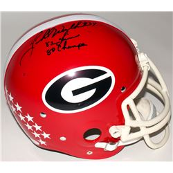Herschel Walker Signed Georgia Bulldogs RK Suspension Full Size Helmet Inscribed   82 Heisman    80