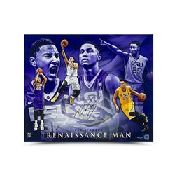 "Ben Simmons Signed LSU ""Renaissance Man"" 20x24 Photo (UDA COA)"