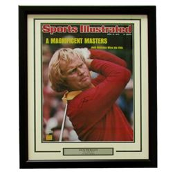 Jack Nicklaus Signed 22x27 Custom Framed Photo Display (Fanatics)