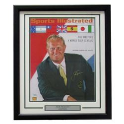 Jack Nicklaus Signed 22x27 Custom Framed 1967 Sports Illustrated Display (Fanatics)